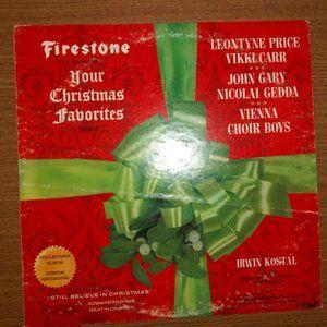 YOUR CHRISTMAS FAVORITES VOL 7 VINYL LP RECORD